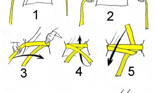 Poradnik młodego judoki: nauka wiązania pasa!