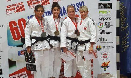 [Wyniki zawodów] Brąz trenerki Moniki w 60. Indywidualnych Mistrzostwach Polski w Judo Seniorek i Seniorów [22-23.10.2016]
