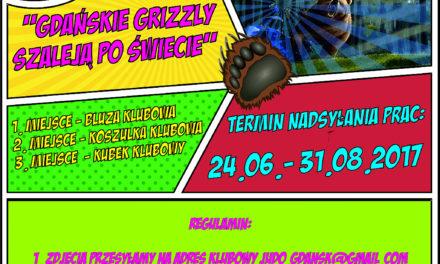 """Wakacyjny konkurs fotograficzny """"Gdańskie Grizzly szaleją po Świecie"""""""