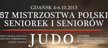 57. Mistrzostwa Polski Seniorek i Seniorów w Judo [Gdańsk, 04 – 06.10.2013]