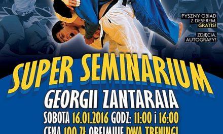 Super Seminarium – Georgii Zantaraia w Warszawie [16.01.2016]