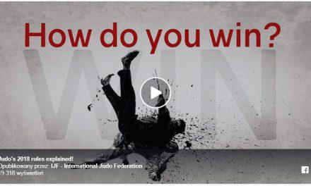 Przepisy walki judo na rok 2019