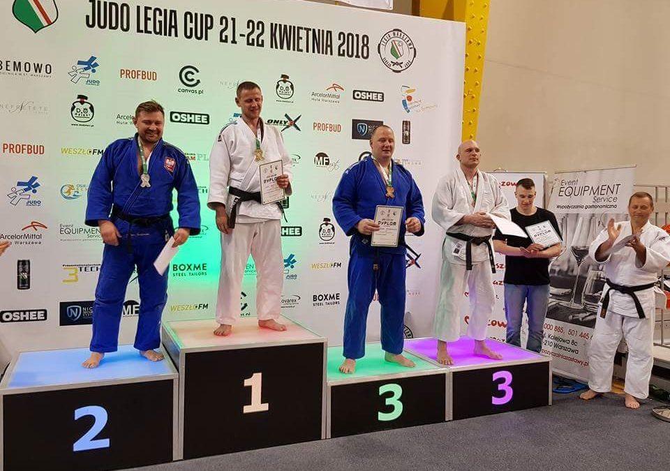 [Wyniki zawodów] Judo Legia Cup Masters 2018 [21.04.2018]