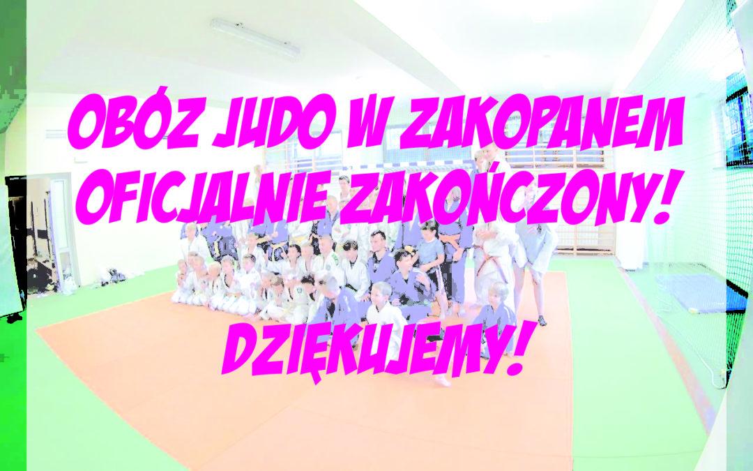 [Obozy] Obóz Judo w Zakopanem oficjalnie zakończony! :)