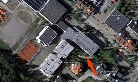 Mapka dojazdu do sali judo w SP81 ;)