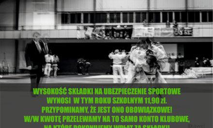 Znamy wysokość składki za obowiązkowe klubowe ubezpieczenie NNW od sportów walki