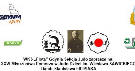 [Zawody] XXVI Mistrzostwa Pomorza w Judo Dzieci im. Wiesława SAWICKIEGO  i kmdr Stanisława FILIPIAKA [27.10.2018]