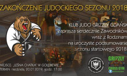Zapraszamy już teraz na zakończenie judockiego sezonu 2018 [20.01.2019]