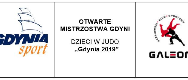 [Zawody] Otwarte Mistrzostwa Gdyni Dzieci w Judo [19.01.2019]