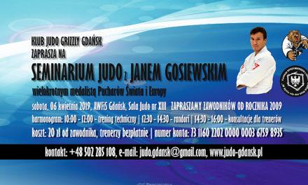 Seminarium Judo z Janem Gosiewskim [06.04.2019]