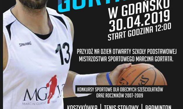 Marcin Gortat w Gdańsku w naszym SMSie, czyli Dzień Otwarty w SPMS przy Orłowskiej! [wtorek, 30.04.2019]