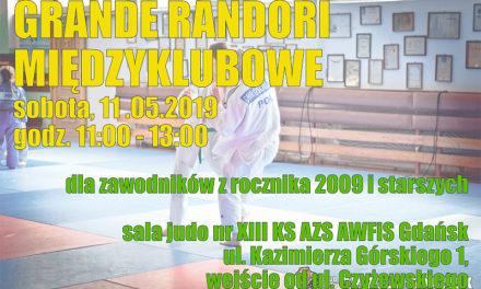 Grande randori międzyklubowe [sobota, 11.05.2019]