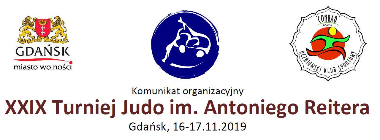 [Zawody] XXIX Turniej Judo im. Antoniego Reitera [Gdańsk, 16-17.11.2019]