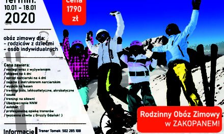 [Obozy zimowe] Rodzinny obóz zimowy w Zakopanem [10.01 – 18.01.2020]