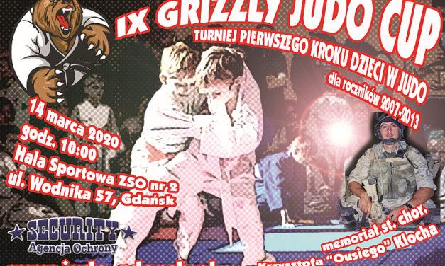 """[Zawody] IX Grizzly Judo Cup – memoriał st. chor. Krzysztofa """"Ousiego"""" Klocha [14.03.2020]"""