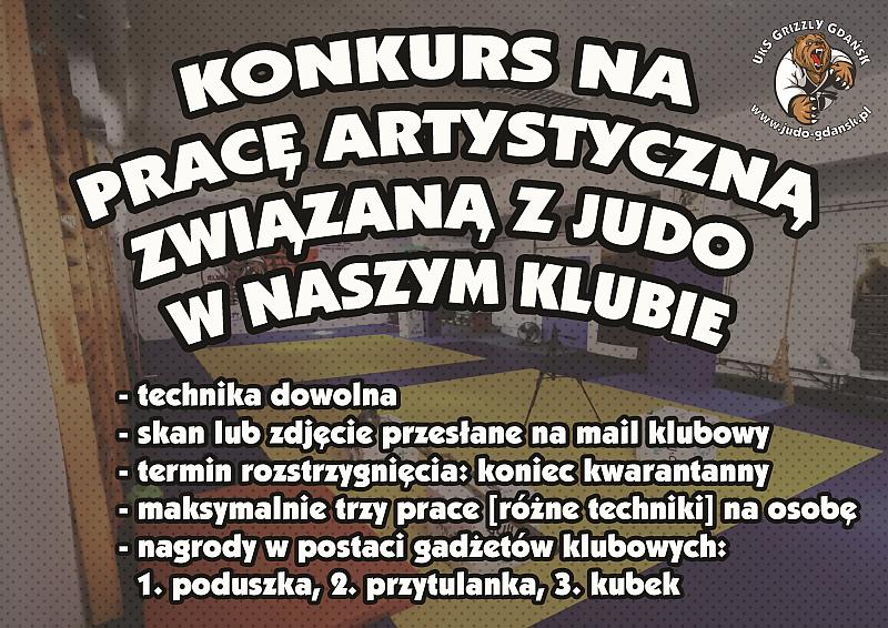 Konkurs plastyczny: judo w naszym klubie!