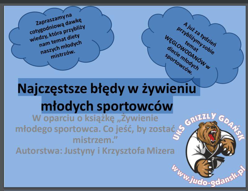 Najczęstsze błędy w żywieniu młodych sportowców – opracowanie trenerki Aleksandry Jabłońskiej