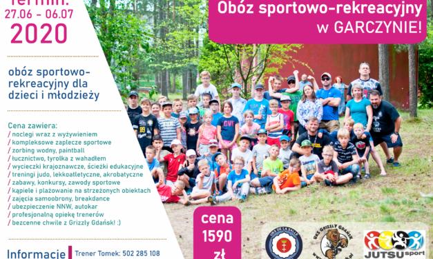 Obóz w Garczynie – informacje szczegółowe