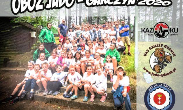 Obóz Judo w Garczynie zakończony!