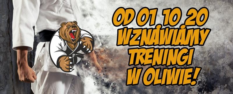 Wznawiamy treningi w Oliwie!