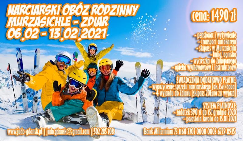 Narciarski Obóz Rodzinny Murzasichle – Zdiar [06.02 – 13.02.2021]