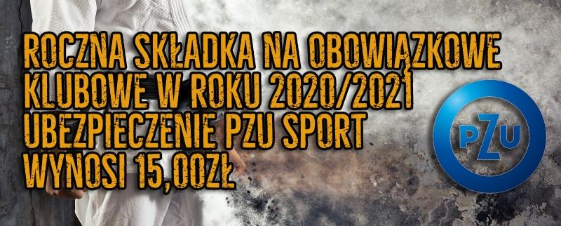 Roczne obowiązkowe ubezpieczenie klubowe na rok szkolny 2020/2021