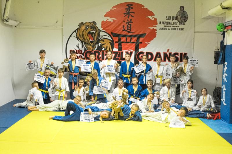[Wyniki zawodów] IX Grizzly Judo Cup – memoriał st. chor. Krzysztofa Ousiego Klocha [14,15.11.2020]
