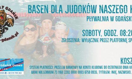 BASEN dla judoków naszego klubu na pływalni w Gdańsku-Osowie
