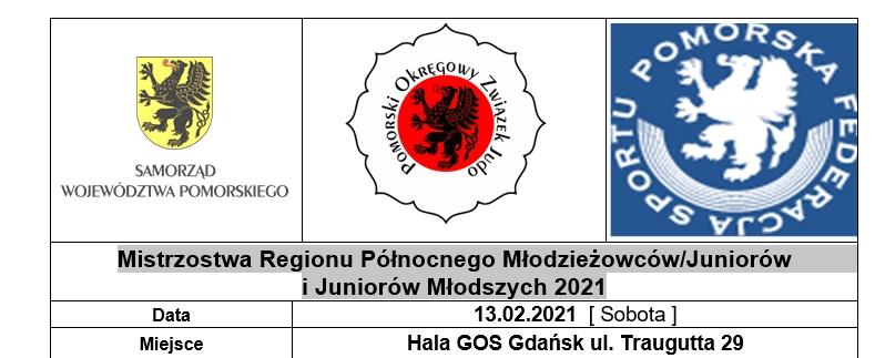 [Zawody] Mistrzostwa Regionu Północnego Młodzieżowców/Juniorów i Juniorów Młodszych 2021 [13.02.2021]