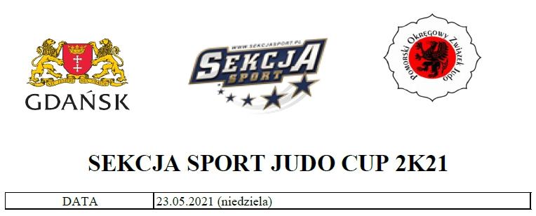 [Zawody] SEKCJA SPORT JUDO CUP 2K21 [23.05.2021]