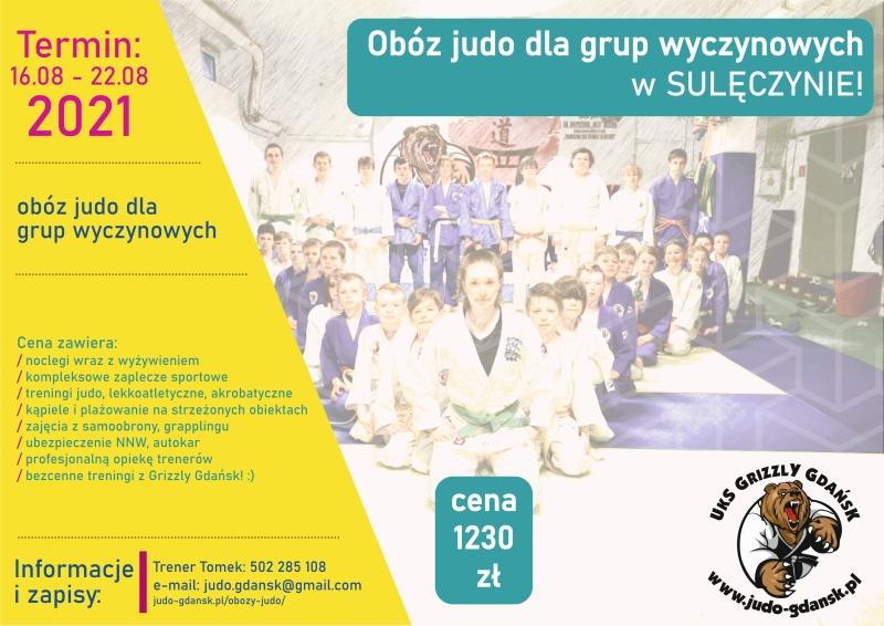 [Obozy judo] Sulęczyno 2021 [16.08 – 22.08.2021]